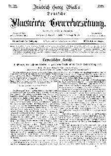 Deutsche Illustrirte Gewerbezeitung, 1868. Jahrg. XXXIII, nr 30.
