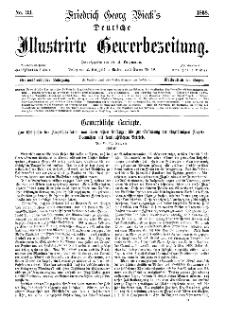 Deutsche Illustrirte Gewerbezeitung, 1868. Jahrg. XXXIII, nr 33.