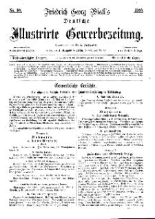 Deutsche Illustrirte Gewerbezeitung, 1868. Jahrg. XXXIII, nr 36.