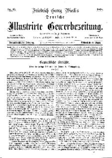 Deutsche Illustrirte Gewerbezeitung, 1868. Jahrg. XXXIII, nr 47.