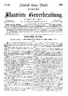 Deutsche Illustrirte Gewerbezeitung, 1868. Jahrg. XXXIII, nr 48.