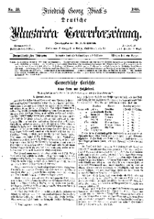Deutsche Illustrirte Gewerbezeitung, 1868. Jahrg. XXXIII, nr 49.