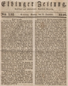Elbinger Zeitung, No. 152 Montag, 21. Dezember 1846
