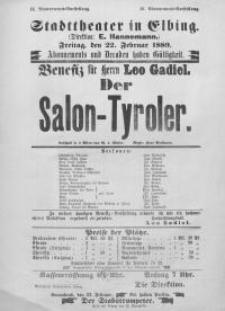 Der Salon-Tyroler - Gustav von Moser