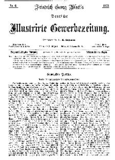 Deutsche Illustrirte Gewerbezeitung, 1871. Jahrg. XXXVI, nr 8.