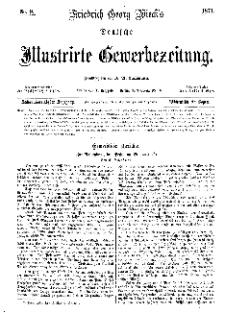 Deutsche Illustrirte Gewerbezeitung, 1871. Jahrg. XXXVI, nr 9.