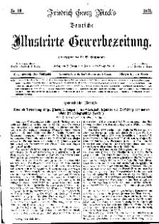 Deutsche Illustrirte Gewerbezeitung, 1871. Jahrg. XXXVI, nr 13.