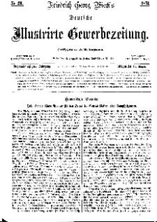 Deutsche Illustrirte Gewerbezeitung, 1871. Jahrg. XXXVI, nr 20.