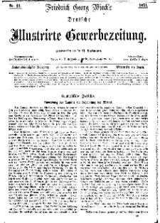 Deutsche Illustrirte Gewerbezeitung, 1871. Jahrg. XXXVI, nr 44.