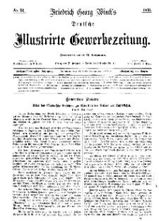 Deutsche Illustrirte Gewerbezeitung, 1871. Jahrg. XXXVI, nr 51.