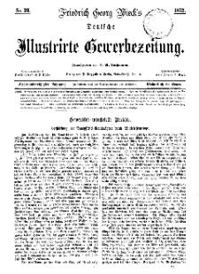 Deutsche Illustrirte Gewerbezeitung, 1872. Jahrg. XXXVII, nr 23.