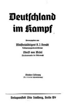 Deutschland im Kampf, 1940, Nr 27/28.
