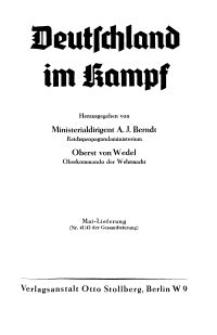 Deutschland im Kampf, 1941, Nr 41/42.