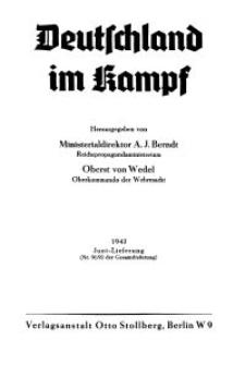 Deutschland im Kampf, 1943, Nr 91/92.
