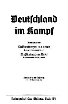 Deutschland im Kampf, 1939, Nr 4.