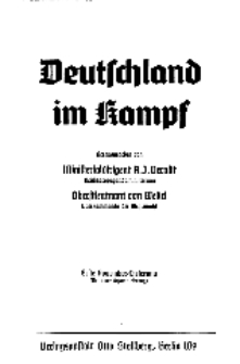 Deutschland im Kampf, 1939, Nr 5.