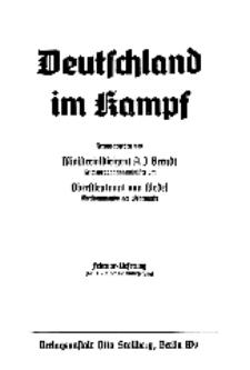 Deutschland im Kampf, 1940, Nr 11/12.