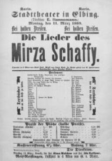Die Lieder des Mirza Schaffy - Emil Pohl