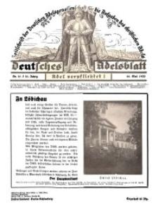 Deutsches Adelsblatt, Nr. 21, 51 Jahrg., 20 Mai 1933