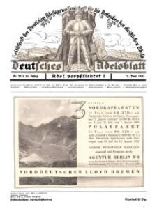 Deutsches Adelsblatt, Nr. 25, 51 Jahrg., 17 Juni 1933
