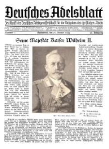 Deutsches Adelsblatt, Nr. 5, 52 Jahrg., 27 Januar 1934