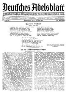 Deutsches Adelsblatt, Nr. 12, 52 Jahrg., 17 März 1934