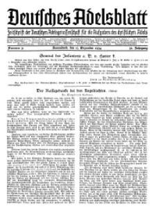 Deutsches Adelsblatt, Nr. 51, 52 Jahrg., 15 Dezember 1934