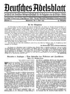 Deutsches Adelsblatt, Nr. 25, 53 Jahrg., 15 Juni 1935