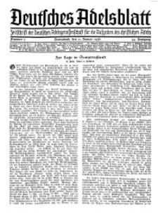 Deutsches Adelsblatt, Nr. 3, 54 Jahrg., 11 Januar 1936