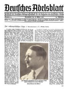Deutsches Adelsblatt, Nr. 14, 54 Jahrg., 28 März 1936