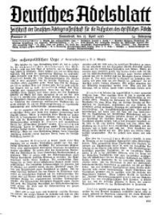 Deutsches Adelsblatt, Nr. 18, 54 Jahrg., 25 April 1936