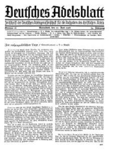 Deutsches Adelsblatt, Nr. 26, 54 Jahrg., 20 Juni 1936