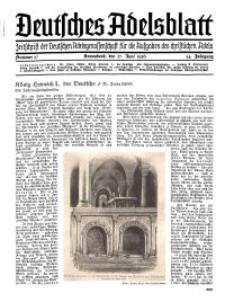 Deutsches Adelsblatt, Nr. 27, 54 Jahrg., 27 Juni 1936