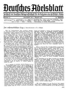 Deutsches Adelsblatt, Nr. 32, 54 Jahrg., 1 August 1936