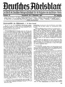 Deutsches Adelsblatt, Nr. 36, 55 Jahrg., 4 September 1937