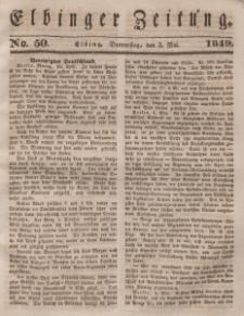 Elbinger Zeitung, No. 50 Donnerstag, 3. Mai 1849