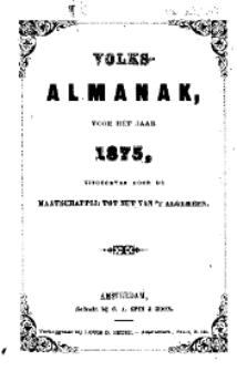 Volks-Almanak voor het Jaar 1875