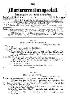 Marineverordnungsblatt, Nr.9, 1898