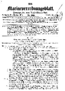 Marineverordnungsblatt, Nr.24, 1898