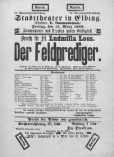 Der Feldprediger - H. Wittmann, A. Wohlmuth
