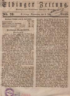 Elbinger Zeitung, No. 78 Donnerstag, 3. Juli 1845