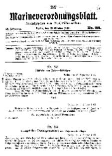 Marineverordnungsblatt, Nr.23, 1917