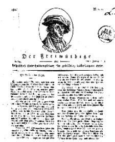 Der Freimüthige, oder Berlinisches Unterhaltungsblatt für gebildete, unbefangene Leser, 1 Januar 1811, Nr. 1