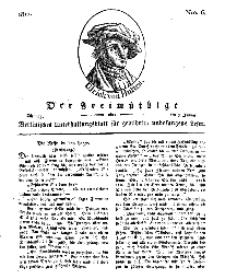 Der Freimüthige, oder Berlinisches Unterhaltungsblatt für gebildete, unbefangene Leser, 8 Januar 1811, Nr. 6