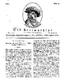 Der Freimüthige, oder Berlinisches Unterhaltungsblatt für gebildete, unbefangene Leser, 12 Januar 1811, Nr. 9