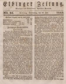 Elbinger Zeitung, No. 81 Donnerstag, 10. Juli 1845