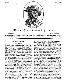 Der Freimüthige, oder Berlinisches Unterhaltungsblatt für gebildete, unbefangene Leser, 31 Januar 1811, Nr. 22