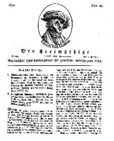 Der Freimüthige, oder Berlinisches Unterhaltungsblatt für gebildete, unbefangene Leser, 1 Februar 1811, Nr. 23