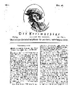 Der Freimüthige, oder Berlinisches Unterhaltungsblatt für gebildete, unbefangene Leser, 5 Februar 1811, Nr. 26