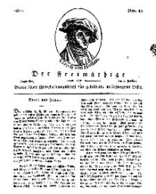 Der Freimüthige, oder Berlinisches Unterhaltungsblatt für gebildete, unbefangene Leser, 7 Februar 1811, Nr. 27